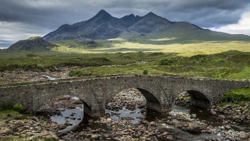 Alte Brücke von Sligachan