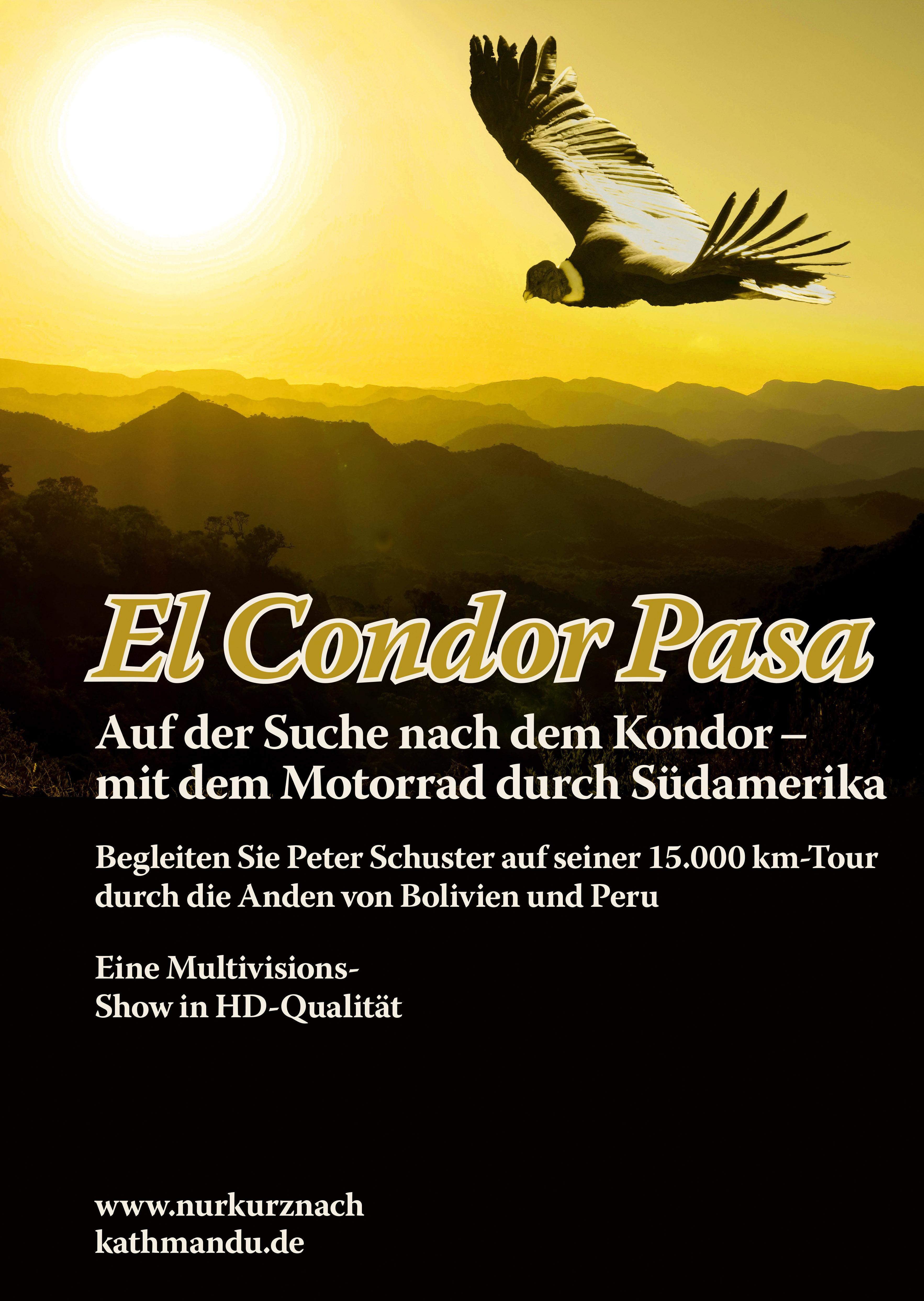 Plakat A3 El Condor Pasa.indd